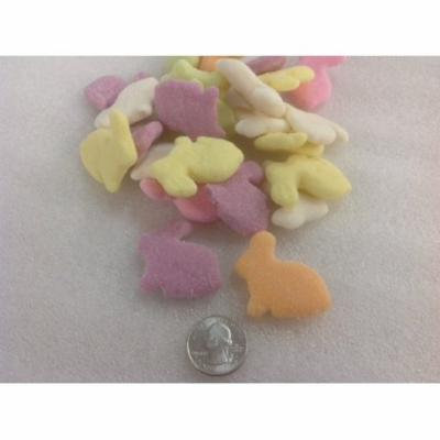Sunrise Gummi Sugared Rabbits Bunnies 2 pounds gummy sanded Easter Candy