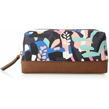 Fossil Bailey Small Cosmetic Case, Black Floral