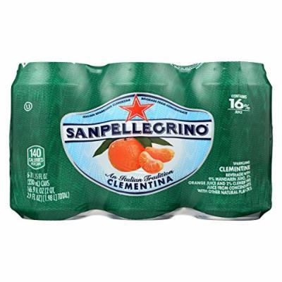 San Pellegrino Sparkling Water - Clementina - Case of 4 - 11.1 Fl oz.