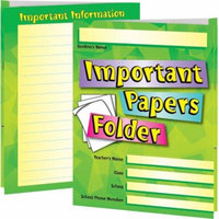 Important Papers Folders