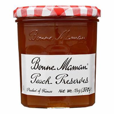 Bonne Maman Conserve - Peach - Case of 6 - 13 oz.