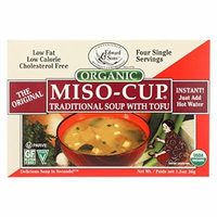 Edward and Sons Organic Traditional Miso - Cup - Case of 12 - 1.3 oz.