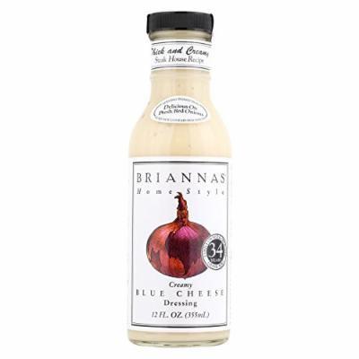Brianna's Salad Dressing - Creamy Blue Cheese - Case of 6 - 12 Fl oz.