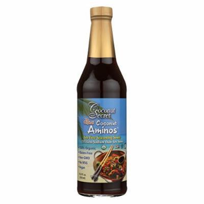 Coconut Secret Seasoning Sauce - Coconut - Case of 6 - 16.9 Fl oz.