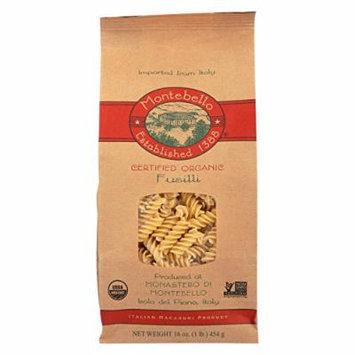 Montebello Organic Pasta - Fusilli - Case of 12 - 1 lb.