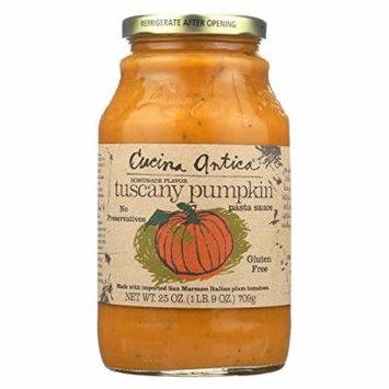 Cucina Antica Tuscany Pumpkin Pasta Sauce - Case of 12 - 25 oz.