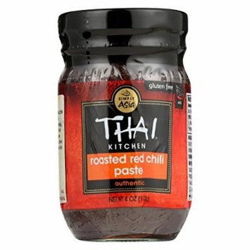 Thai Kitchen Roasted Red Chili Paste - Case of 12 - 4 oz.