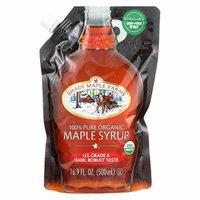 Shady Maple Farms 100 Percent Pure Organic Maple Syrup - Case of 6 - 16.9 Fl oz.