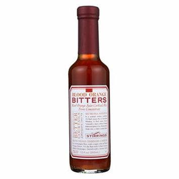 Stirrings Bar Ingredients - Blood Orange Bitters - Case of 6 - 12 Fl oz.