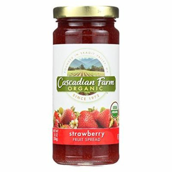 Cascadian Farm Organic Fruit Spread - Strawberry - Case of 6 - 10 oz.