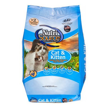Nutri-source Chicken, Salmon and Liver Cat/Kitten Food Size: 1.5-lb bag