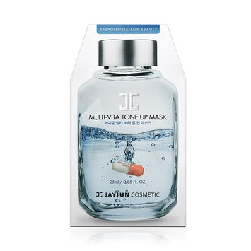 JAYJUN MULTI-VITA TONE UP MASK 25ml(0.85 Fl Oz)10Pcs/100% Authentic direct from Korea