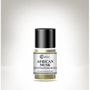 Black Top Body Oil African Musk 15 Ml