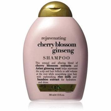 3 Pack Organix Rejuvenating Cherry Blossom Ginseng Shampoo 13 Oz Each