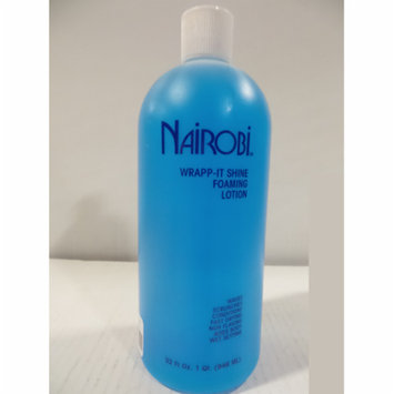 Nairobi Wrapp-It Shine Foaming Lotion.32 oz Brand New and Fresh Stock-Kit 2