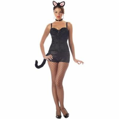 Morris Costumes Womens Black Cat Adult Halloween Accessory Kit
