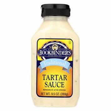 Bookbinder's Tartar Sauce - Traditional - Case of 9 - 9.5 oz.