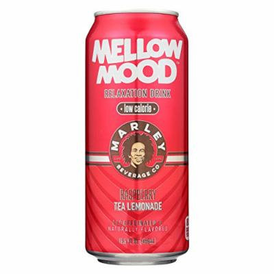 Marley's Mellow Mood Raspberry Tea Lemonade - Case of 12 - 15.5 Fl oz.