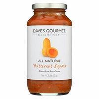 Dave's Gourmet Butternut Squash Pasta Sauce - Case of 6 - 25.5 oz.