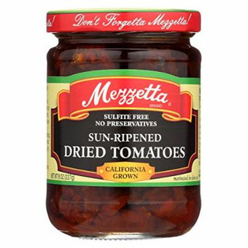 Mezzetta Sun - Ripened Dried Tomatoes In Olive Oil - Case of 6 - 8 Fl oz.