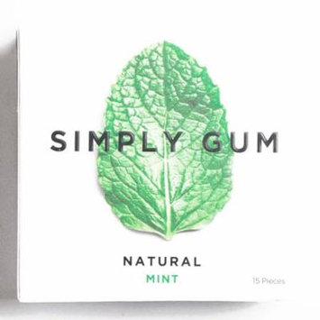 Simply Gum Mint 1 oz each (1 Item Per Order, not per case)