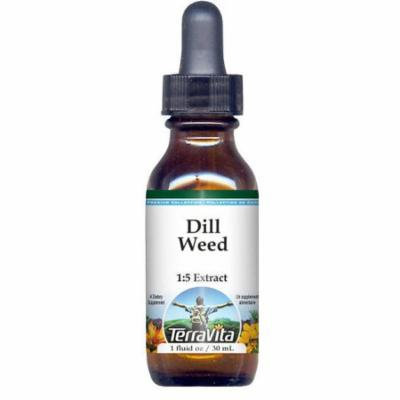 Dill Weed Glycerite Liquid Extract (1:5) - No Flavor (1 oz, ZIN: 522377) - 3-Pack