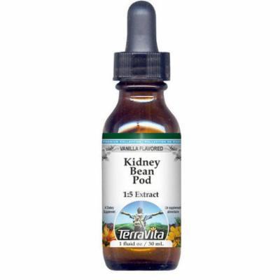 Kidney Bean Pod Glycerite Liquid Extract (1:5) - Vanilla Flavored (1 oz, ZIN: 522629)