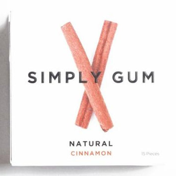 Simply Gum Cinnamon 1 oz each (1 Item Per Order, not per case)