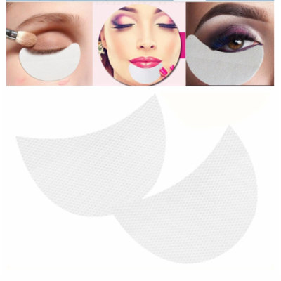 20 pcs Eye Shadow Shields Protector Pads Eyelash Extensions Patch Professional Beauty Eye Lip Make Up Tools 5*8.5cm