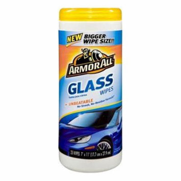 Armor All Glass Cleaner Wipes, 2PK
