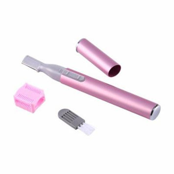 Pink Multi-function Portable Safety Body Hair Remove Removal Beauty Knife Electric Women Facial Trimmer Shaver Eyebrow Shaper Pen