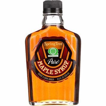 Spring Tree Maple Syrup - Organic - Grade A - Glass Bottle - 8.5 oz - 1 each - 95%+ Organic -