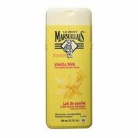 Le Petit Marseillais Body Wash Vanilla Milk Extra Gentle Shower Creme, 13.5 oz, 2 Pack