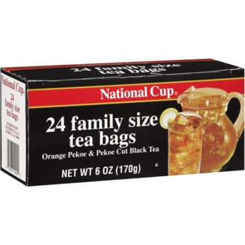 National Cup Family Size 24 count Teabags