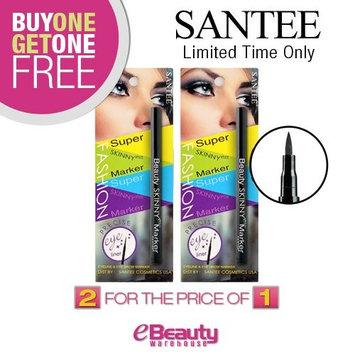 (Buy 1 Get 1 FREE) Santee Beauty Skinny Eye Marker, Black Eye Liner : Beauty