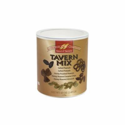 Superior Nut Sweet & Savory Honey Roasted Tavern Mix, 43 oz