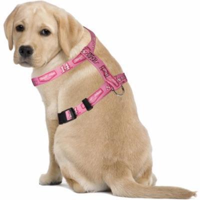 Tony Stewart Adjustable Safety Pet Harness - Pink