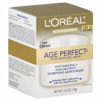 2 Pack - L'Oreal Age Perfect for Mature Skin Day Cream SPF 15 2.50 oz Each