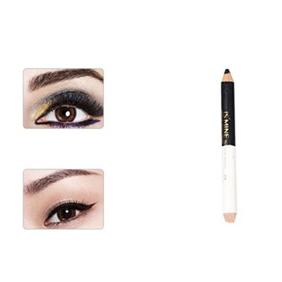 RNTOP Double-headed Pearling Eyeshadow Pencil Lie Silkworm Pen Durable Waterproof