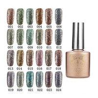 Nail Gel & Polish - 24 Colors Glitter Diamond-Sliver Micro Grain Nail Art Uv Gel Polish Soak Off Dreamlike - 1PCs