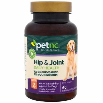 21st Century, Pet Natural Care, Hip & Joint, Level 2, Liver Flavor, 60 Chewables(pack of 1)