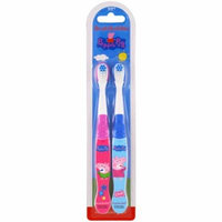 Brush Buddies, Peppa Pig Toothbrush, Soft, 2 Pack(pack of 12)