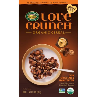 Nature's Path Love Crunch Dark Chocolate & Peanut Butter Cereal