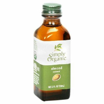 Simply Organic Almond Extract 2 Oz (Pack of 6) - Pack Of 6