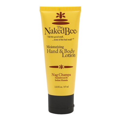 Nag Champa Hand + Body Lotion by The Naked Bee (2.25oz Lotion)