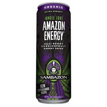 8 Pack - Sambazon Amazon Energy - Jungle Love - 12oz.