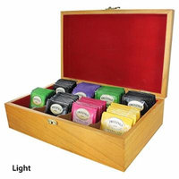 Tea Chests with Tea - Twinings' Fruit Flavor Selections -Light (Imported)