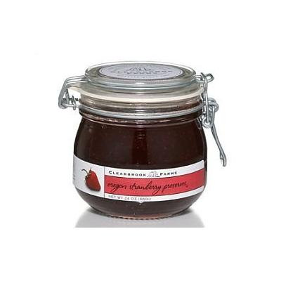 Clearbrook Farms Northwest Oregon Strawberry Preserves, 24 oz jar