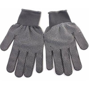 2 Pairs Grey Heat Resistant Finger Glove Hair Straightener Perm Curling Hairdressing Hand Protector by Advanced Shop