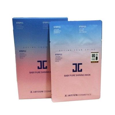 JAYJUN Baby Pure Shining Facial Mask Sheet, 25 ml, 10 sheets